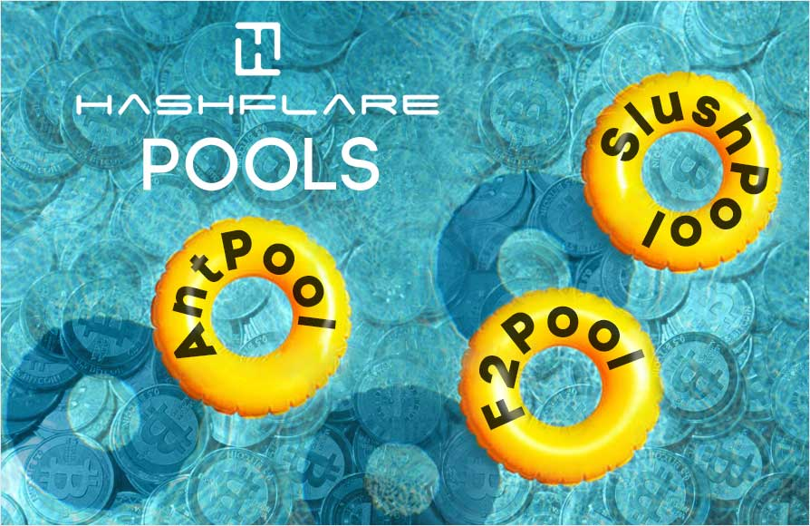 Selection of HashFlare Mining Pools • How to set up the pool