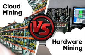Cloud Mining vs Hardware Mining. What Is Better?