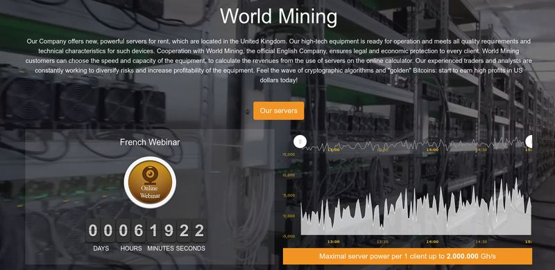World mining service review